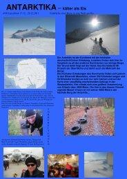 Erlebnis-Bericht unseres Kunden Michael ... - Polar Adventures