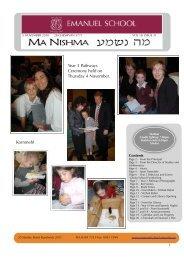 Volume 18 Issue 31 - Emanuel School