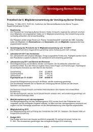 Protokoll 2012 - Berner Division