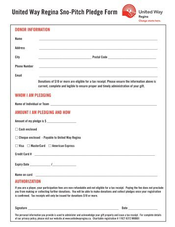 Gift of Securities Information & Share Transfer Form - United Way ...