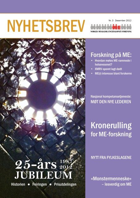 Nummer 3 2012 - Norges ME-forening