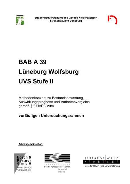 BAB A 20 - Niedersächsische Straßenbauverwaltung - Niedersachsen