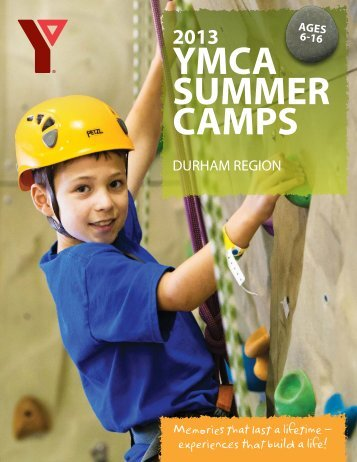 2013 Durham Brochure - YMCA of Greater Toronto
