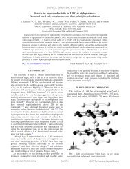 Search for superconductivity in LiBC at high ... - Warren E. Pickett
