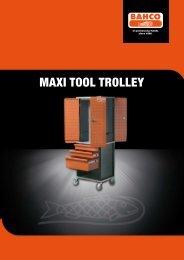 Maxi Tool Trolley brochure - Bahco