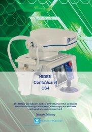 NIDEK ConfoScan4 CS4 - innova
