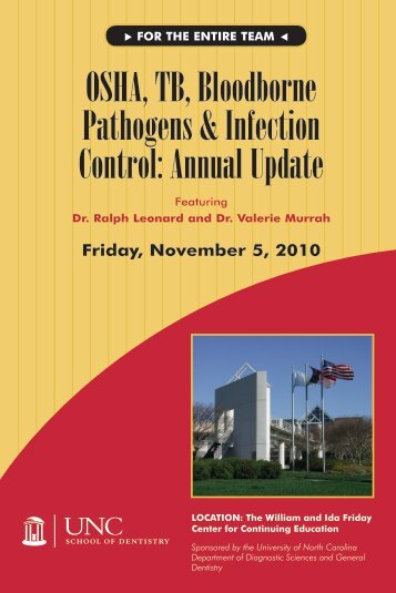 OSHA, TB, Bloodborne Pathogens & Infection Control: Annual Update