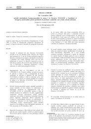 DECIZIA COMISIEI din 3 noiembrie 2008 privind ... - MADR