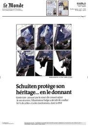 Schuiten protège son héritage... en le donnant - Obscure cities ...