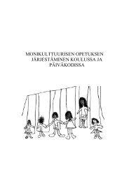 Ohje kouluille ja päiväkodeille - Orimattilan Kaupunki