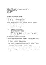 LINGUA TEDESCA I Classe 12/Lingue e Culture per il Turismo e il ...