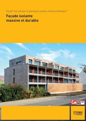 Brochure Façade isolante massive et durable - Ytong