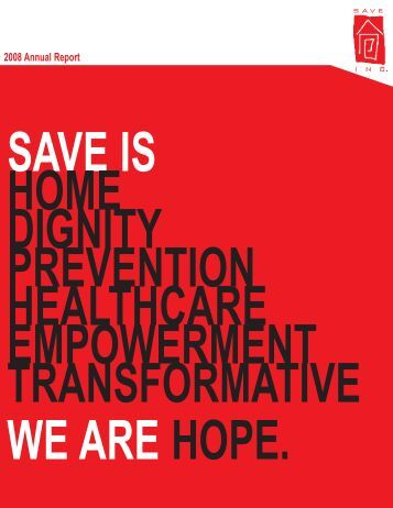 2008 Annual Report - SAVE, Inc
