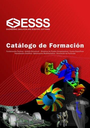 Catálogo de Formación - ESSS