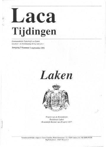 Tijdingen - Laken-Ingezoomd.be