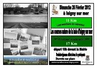 Téléchargez le bulletin d'inscription ici - Course à pied en Normandie