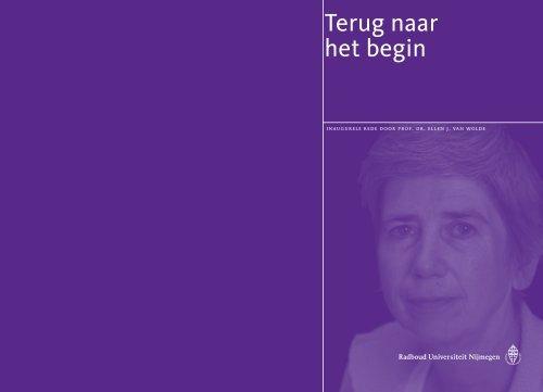 oratie - Nederlands Bijbelgenootschap
