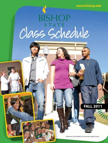 2011 Fall Schedule - Bishop State Community College