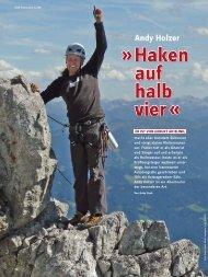 Haken auf halb vier - Deutscher Alpenverein