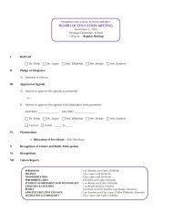 Nov 5 Agenda - Pickerington Local School District