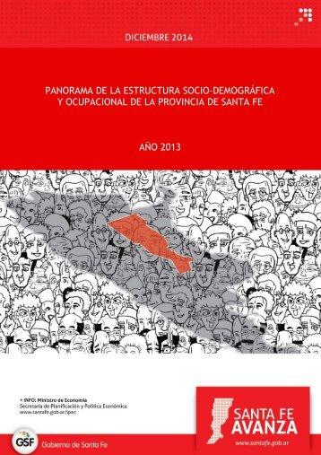 Estructura demografica y ocupacional de SF