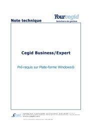 Pré-requis sur plate-forme Windows - extremIT
