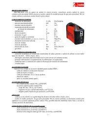 TECNICA111 este un aparat de sudură în sistem invertor, monofazat ...