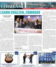 LEARN ENGLISH, COMRADE - support citizens magazine