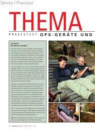 GPS - HIMMLISCH GEFÜHRT - Wandermagazin