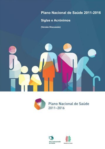 Siglas e Acrónimos - Plano Nacional de Saúde 2012 – 2016