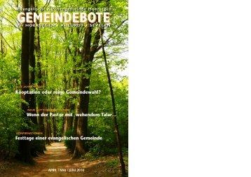 GEMEINDEBOTE - Kirche-Hoerstgen