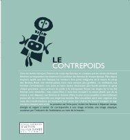 le contrepoids - Réseau québécois d'action pour la santé des femmes