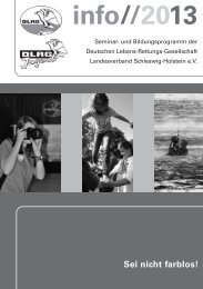 als PDF-Download - (DLRG), Landesverband Schleswig-Holstein