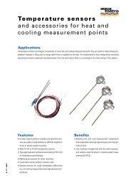 Temperature sensors - gess.ae