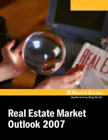 Real Estate Market Outlook 2007