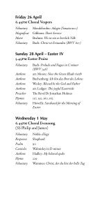 Easter 2013 - College Choir - Page 4
