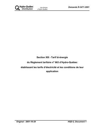 HQD-2-1 - Régie de l'énergie