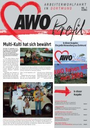In dieser Ausgabe - AWO Dortmund