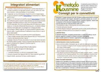 Foglio Connettiviti.pdf - Metodo Kousmine