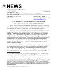 FOR IMMEDIATE RELEASE: NEWS MEDIA CONTACT ... - NATOA