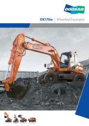 DX170w | Wheeled Excavator - DM-Ker Kft