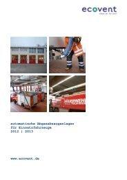 Laufschienensystem LS 10-D - Ecovent Energie- und Umwelttechnik ...