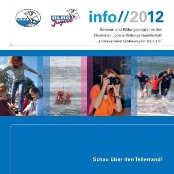 INFO 2012 - (DLRG), Landesverband Schleswig-Holstein