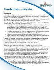 Stronger requirements for oil and natural gas exploration and ...