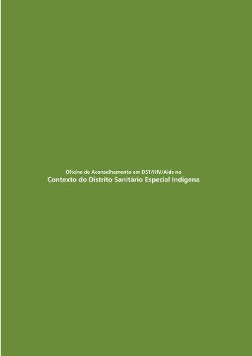Oficina de Aconselhamento em DST/HIV/Aids no Contexto do DSEl