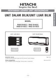 UNIT DALAM BILIK/UNIT LUAR BILIK