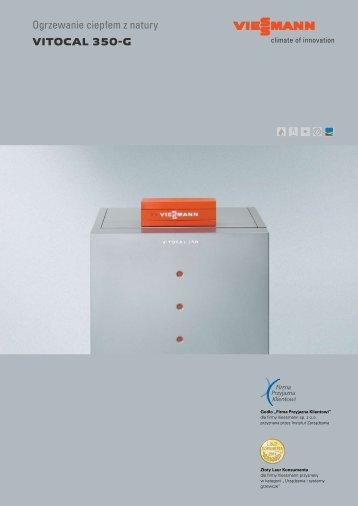 VITOCAL 350-G Ogrzewanie ciepłem z natury - Viessmann