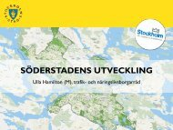 Stockholms nya offensiv i söder