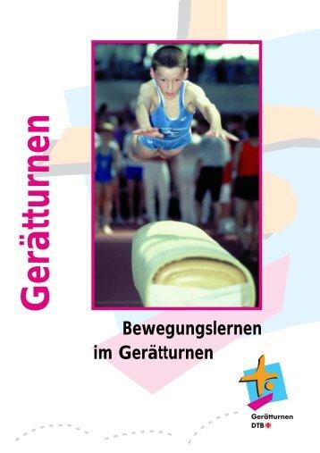 Bewegungslernen im Gerätturnen - Bundesjugendspiele