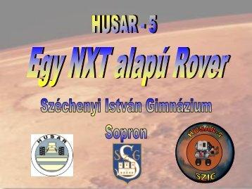 HUSAR-5: egy Lego Mindstorm NXT alapú rover rezgések ...
